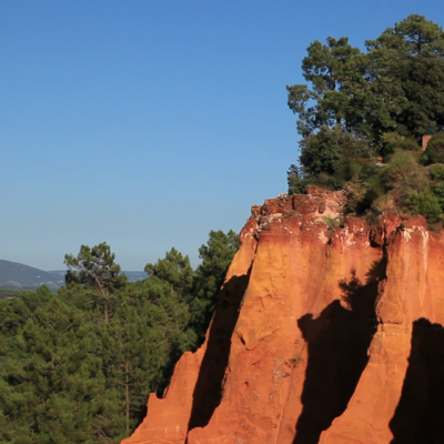 The color of Roussillon