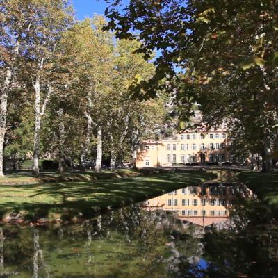 Le Chateau du Tholonet near Aix en Provence